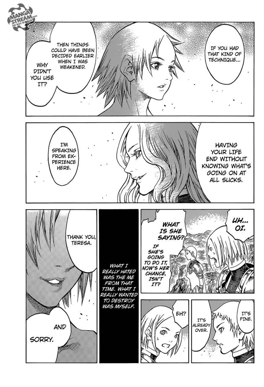 Claymore, Chapter 154 image 023