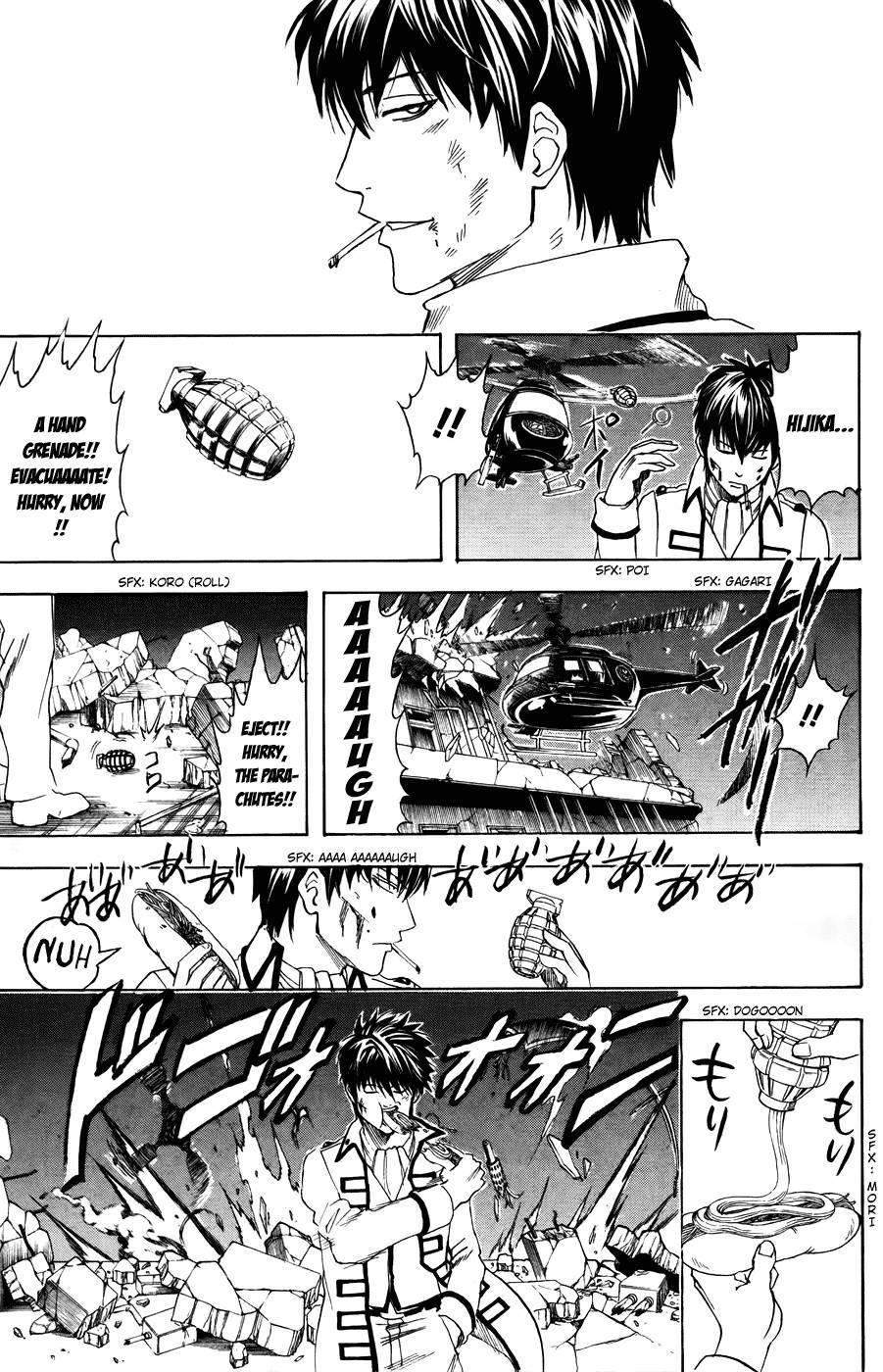 Gintama Chapter, 369 image 019