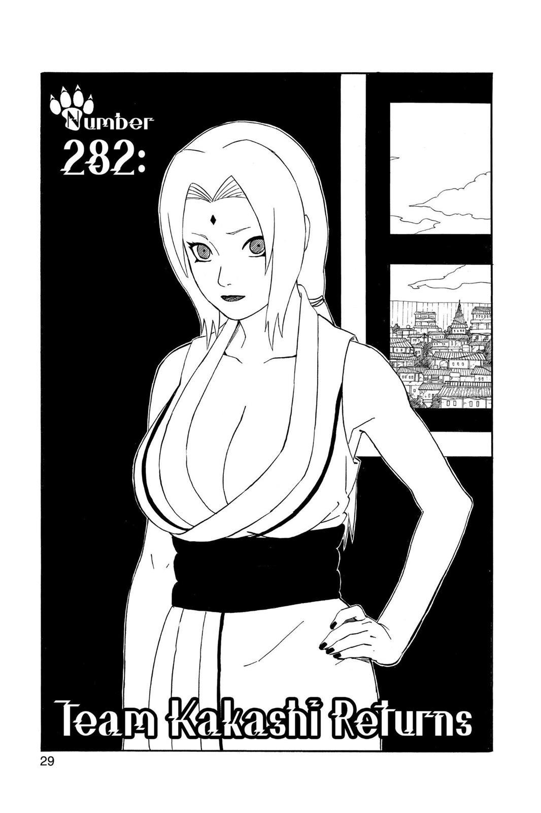 Naruto, Chapter 282 image 001
