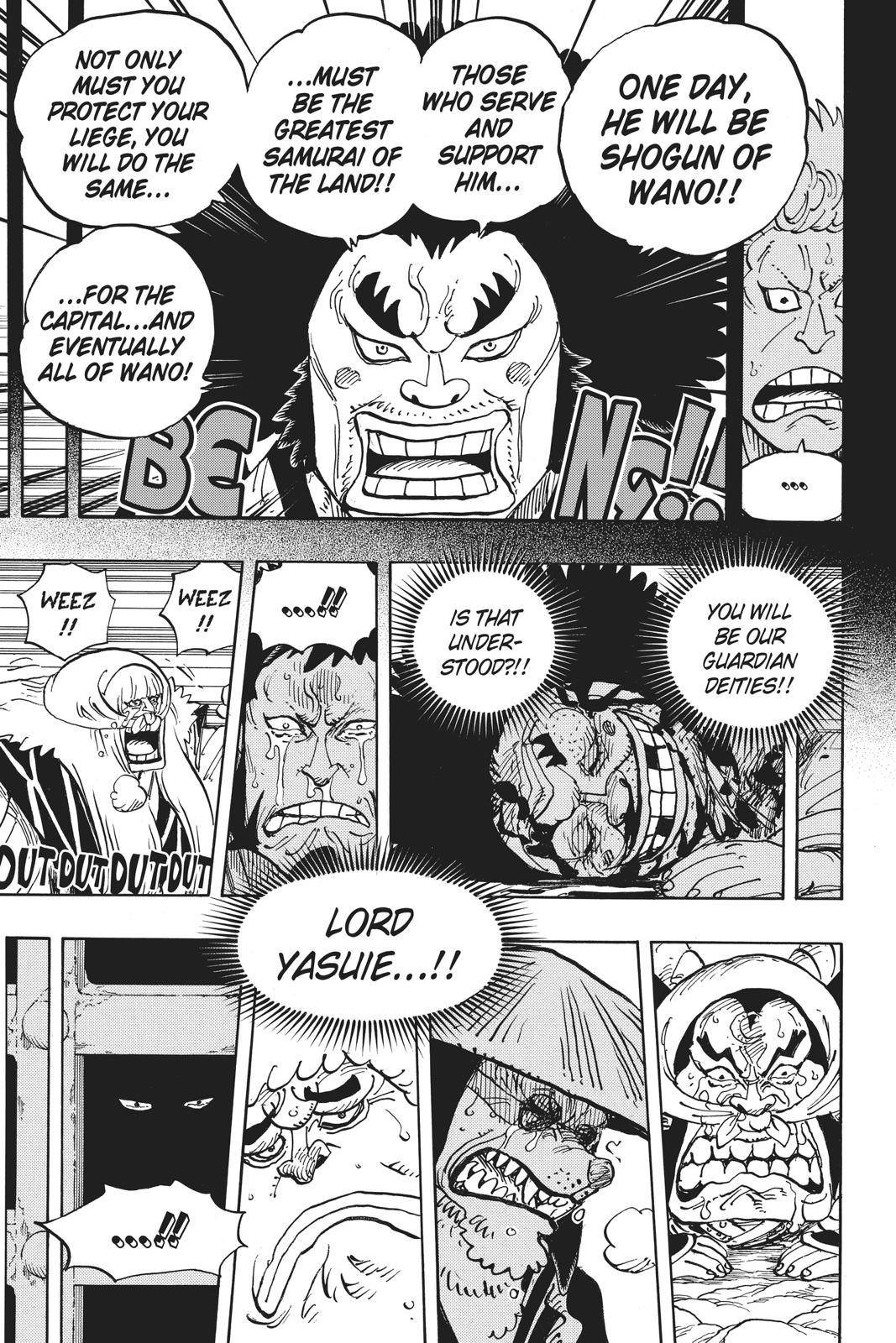 One Piece, Chapter 943 image 009