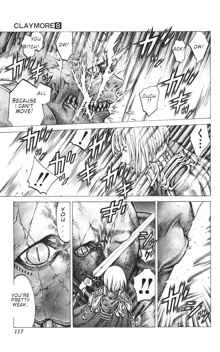 Claymore, Chapter 43 image 014