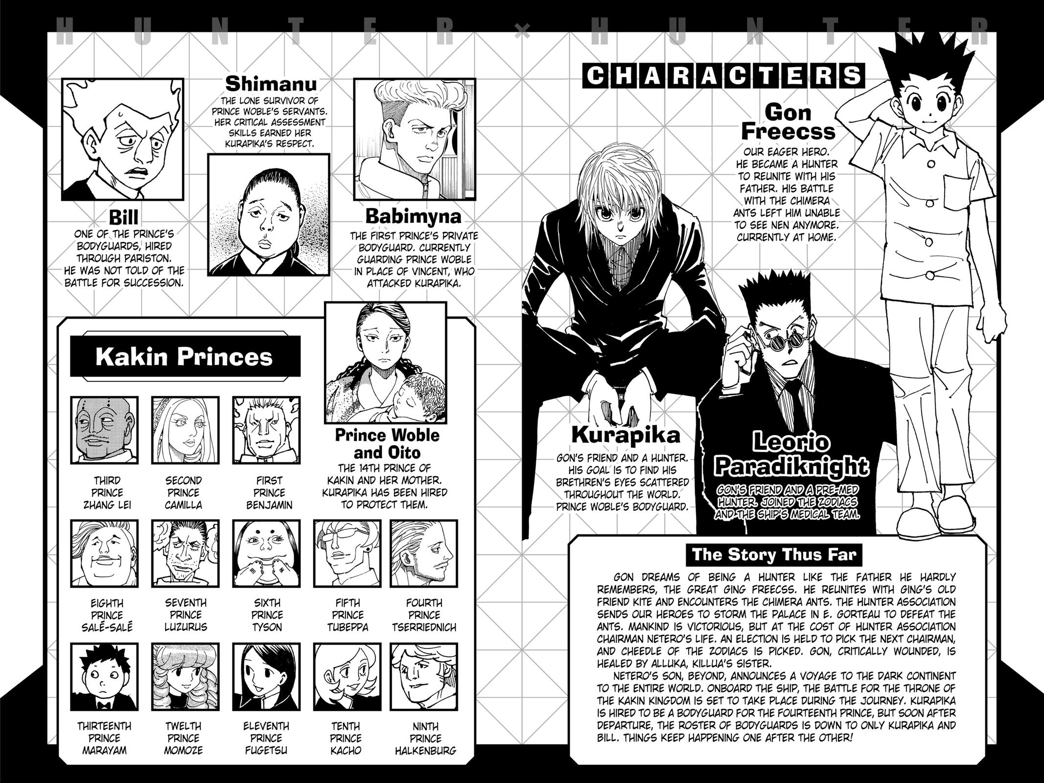 Hunter X Hunter, Chapter 371 image 005
