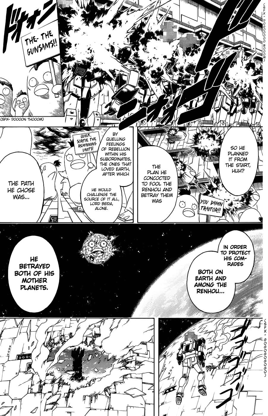 Gintama Chapter, 357 image 013