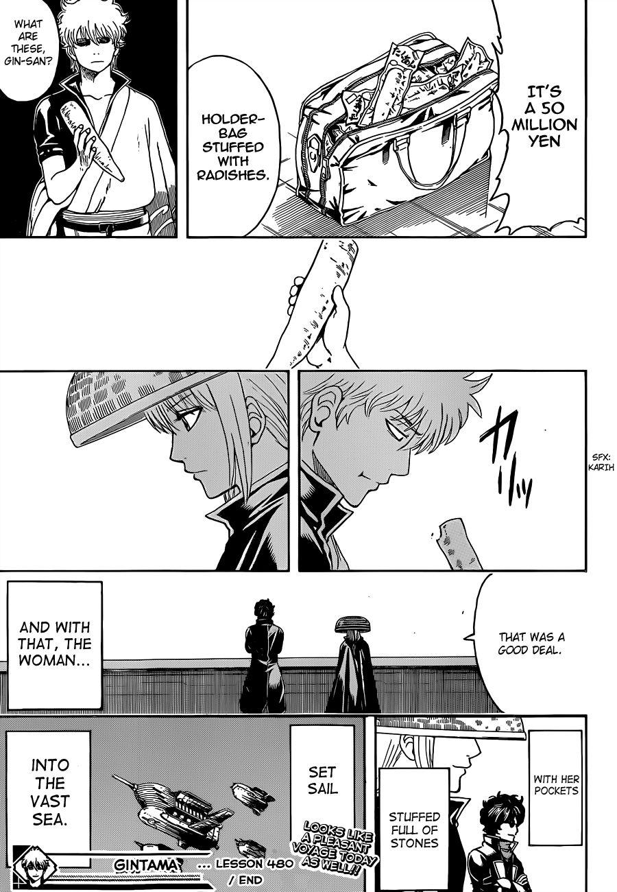 Gintama Chapter, 480 image 017