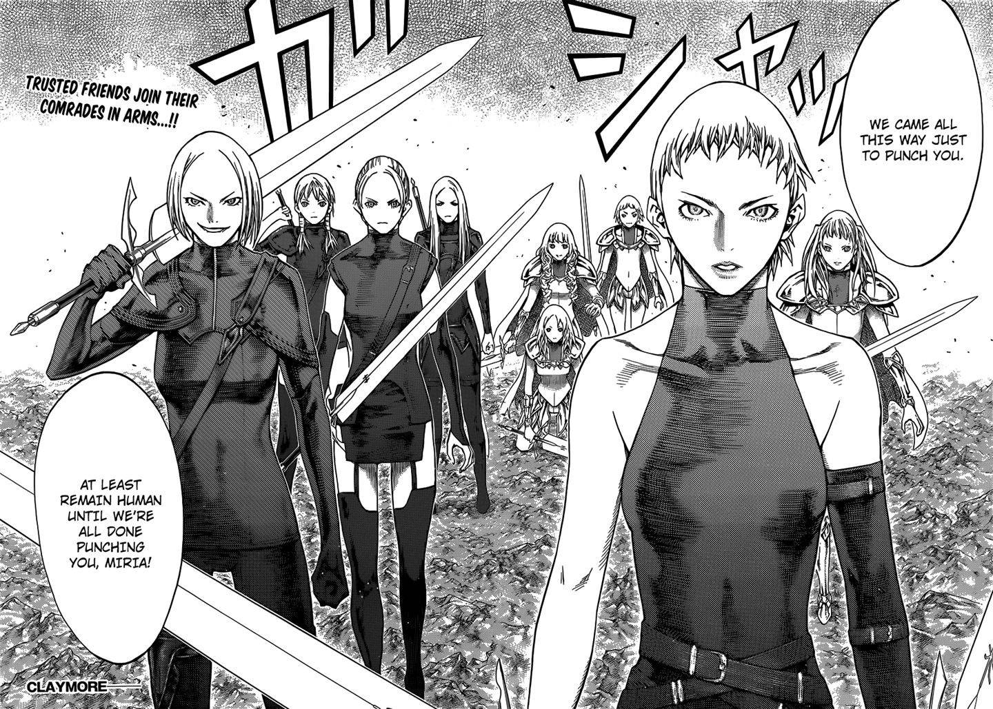 Claymore, Chapter 121 image 026