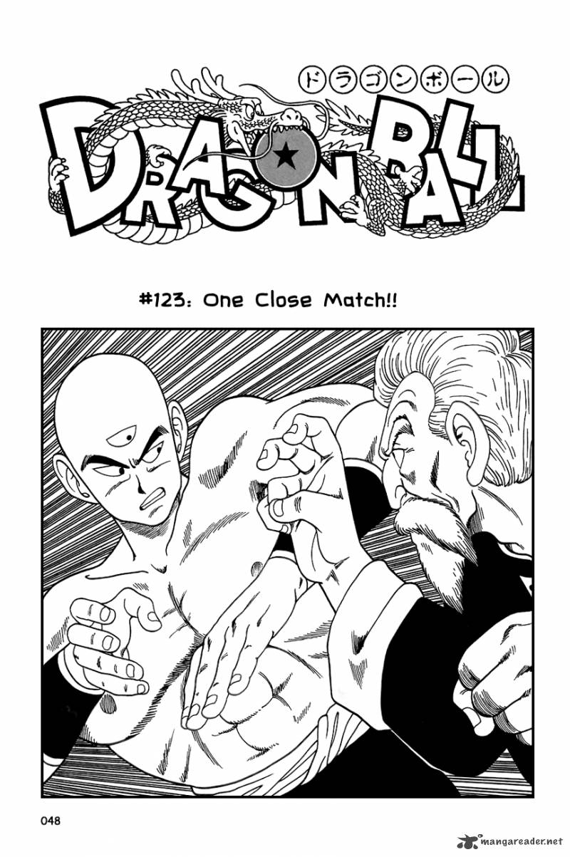 Dragon Ball, Chapter 123 image 002