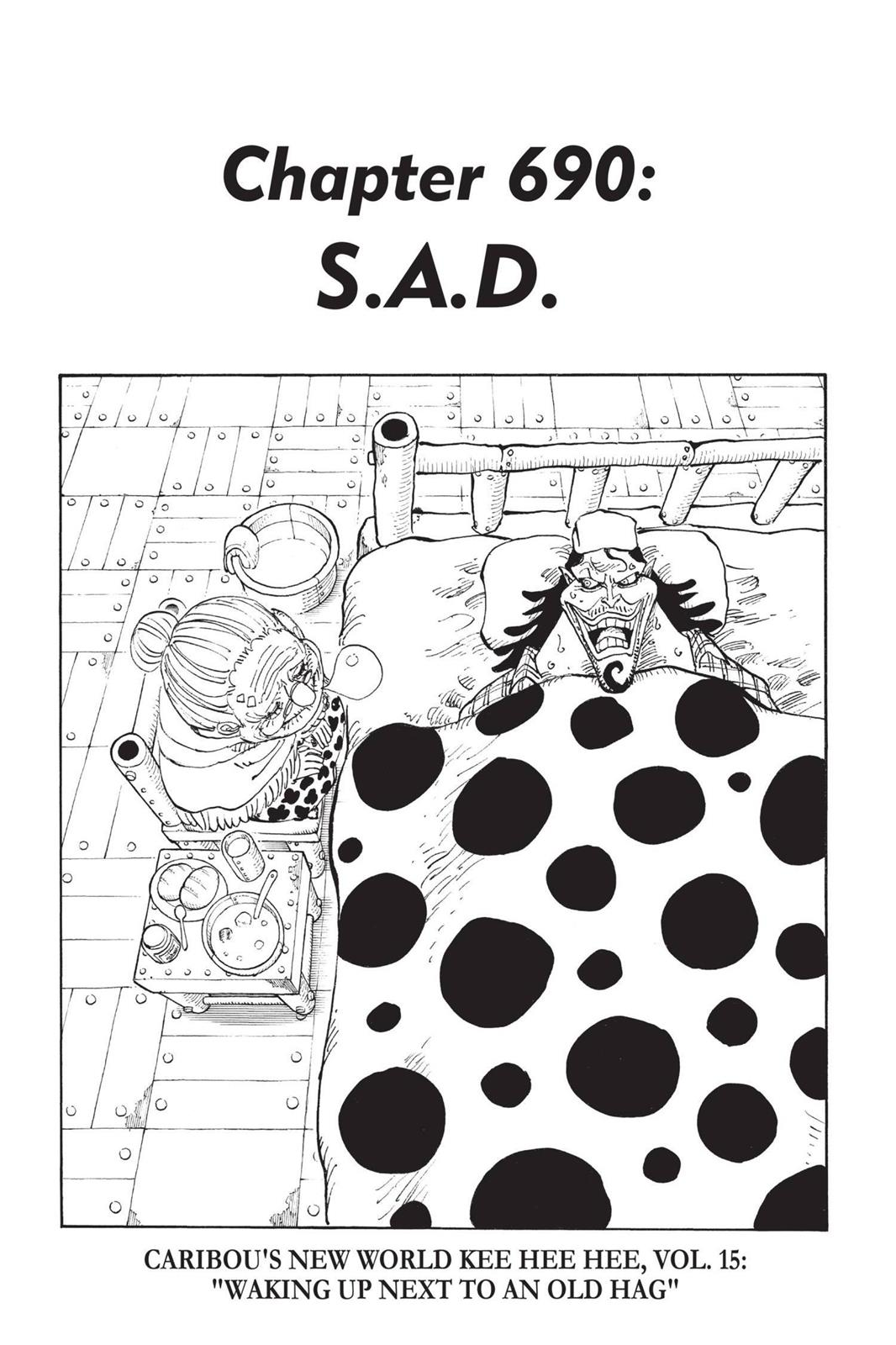 One Piece, Chapter 690 image 001