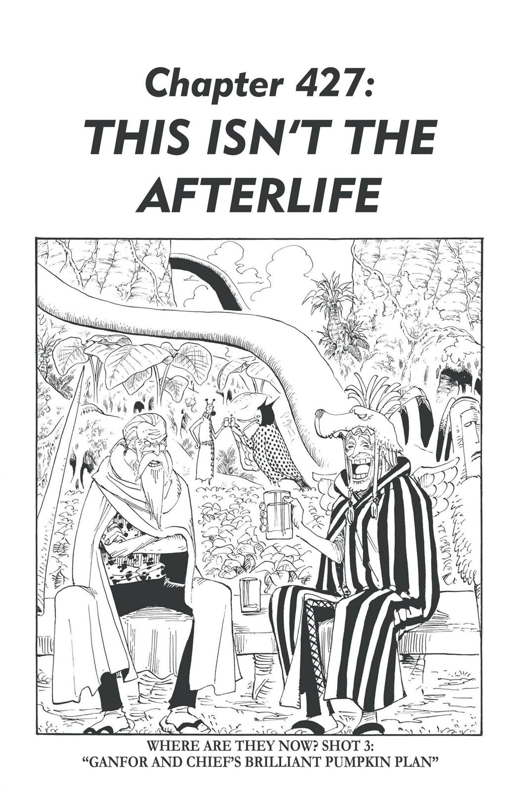One Piece, Chapter 427 image 001