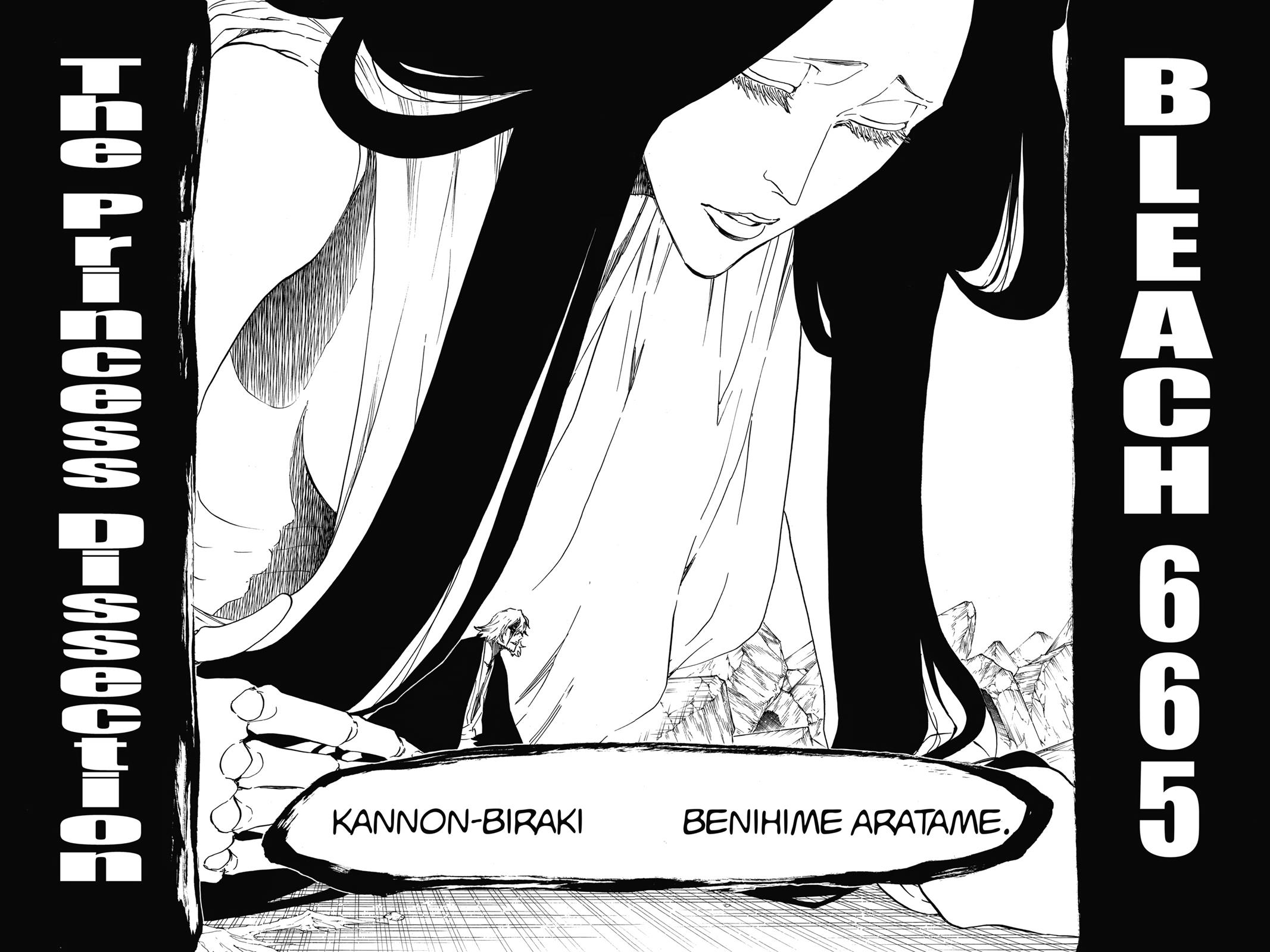 Bleach, Chapter 665 image 002
