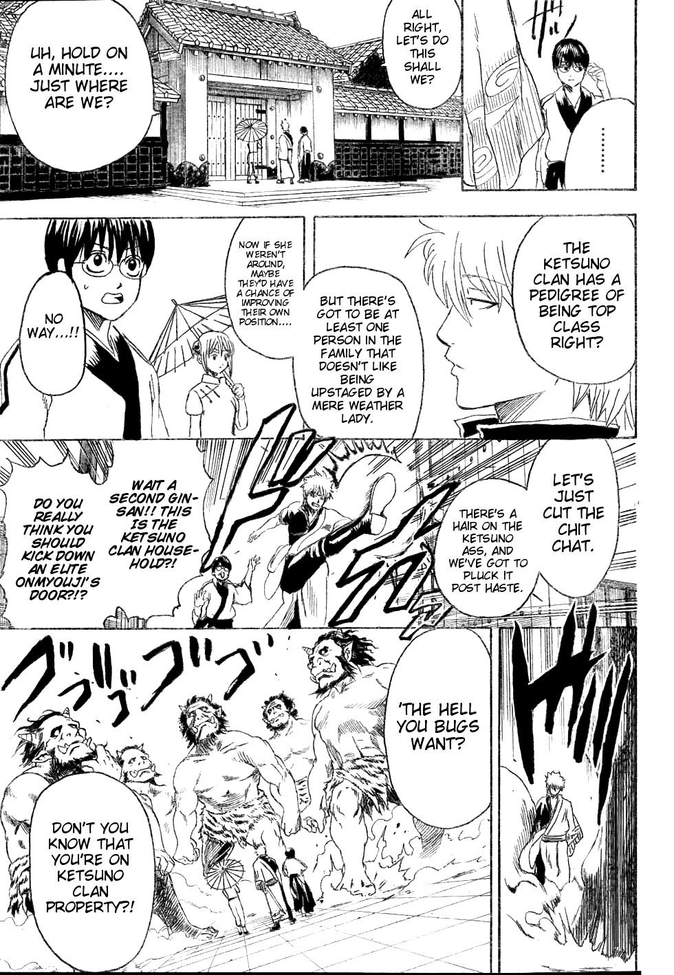 Gintama Chapter, 282 image 015