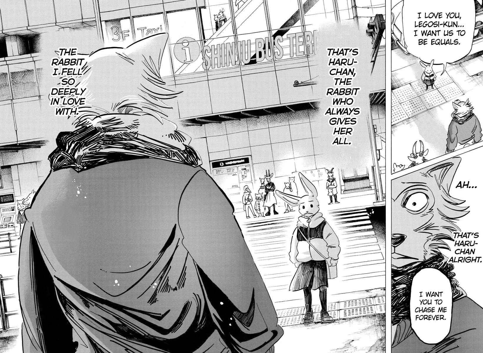 Beastars Manga, Chapter 195 image 018