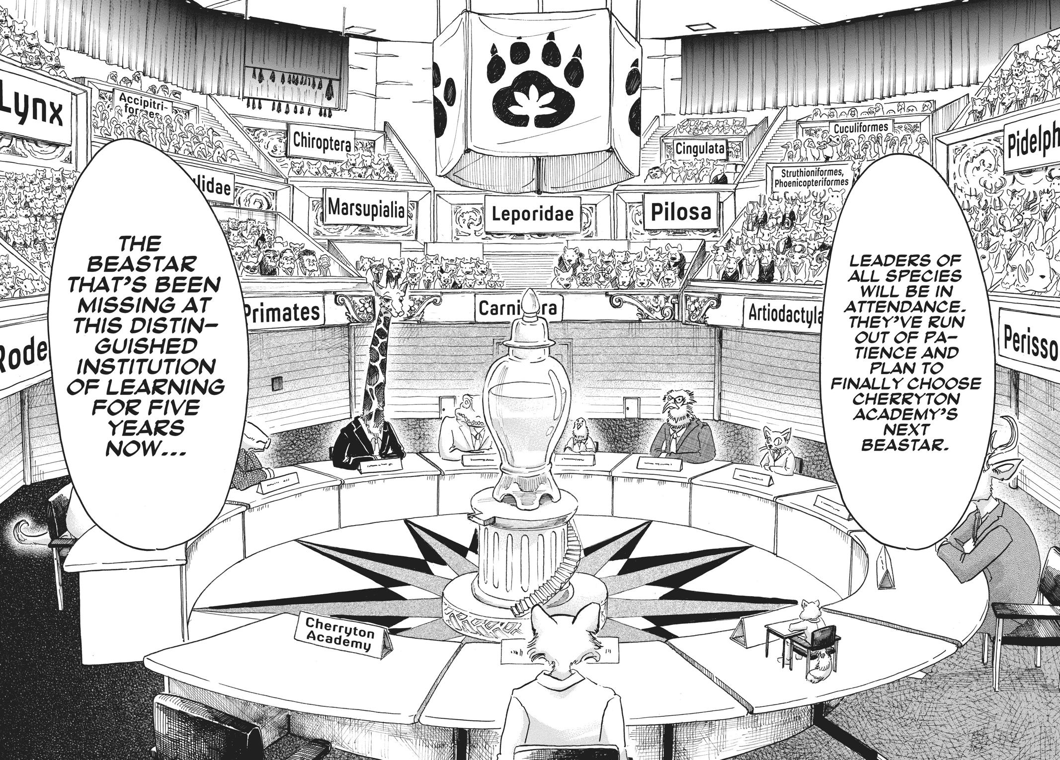 Beastars Manga, Chapter 52 image 017