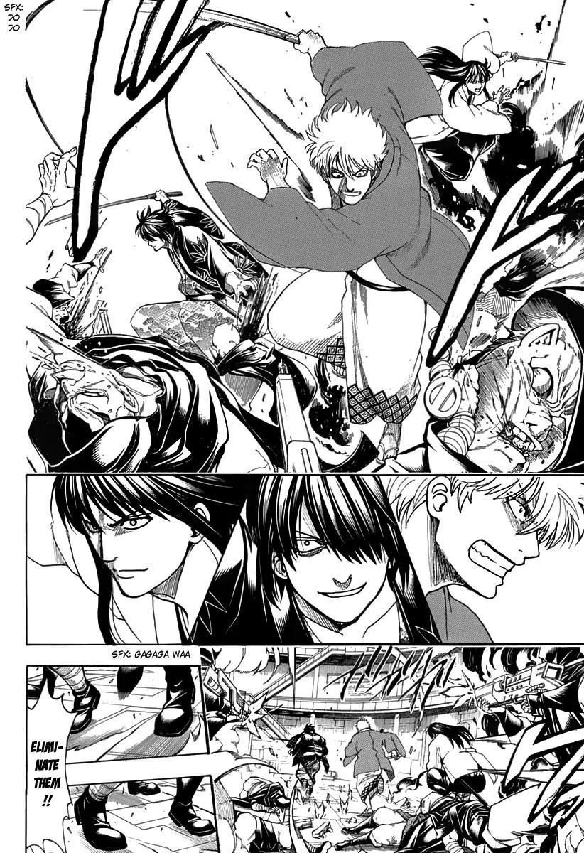 Gintama Chapter, 699 image 012