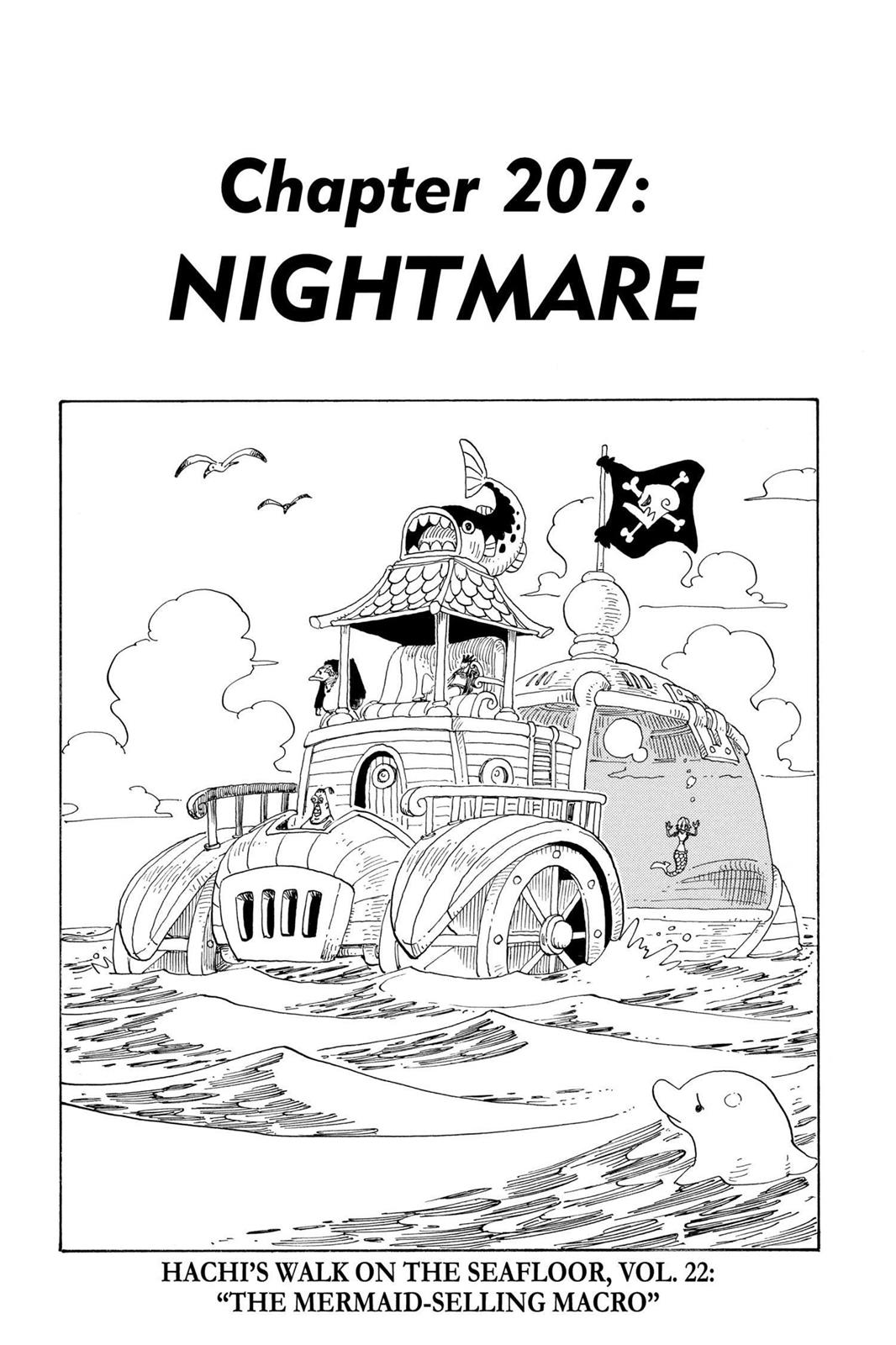 One Piece, Chapter 207 image 001