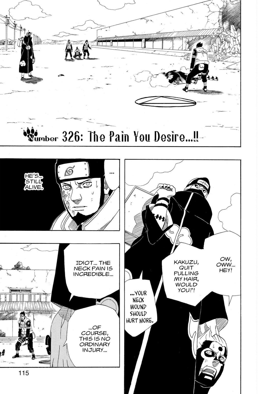 Naruto, Chapter 326 image 001