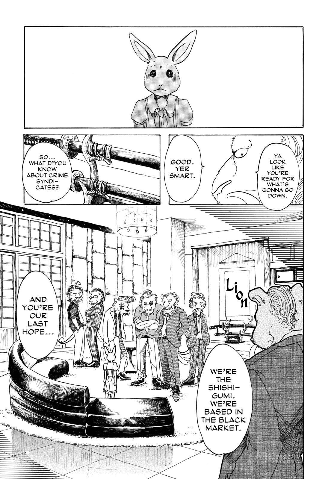 Beastars Manga, Chapter 35 image 007