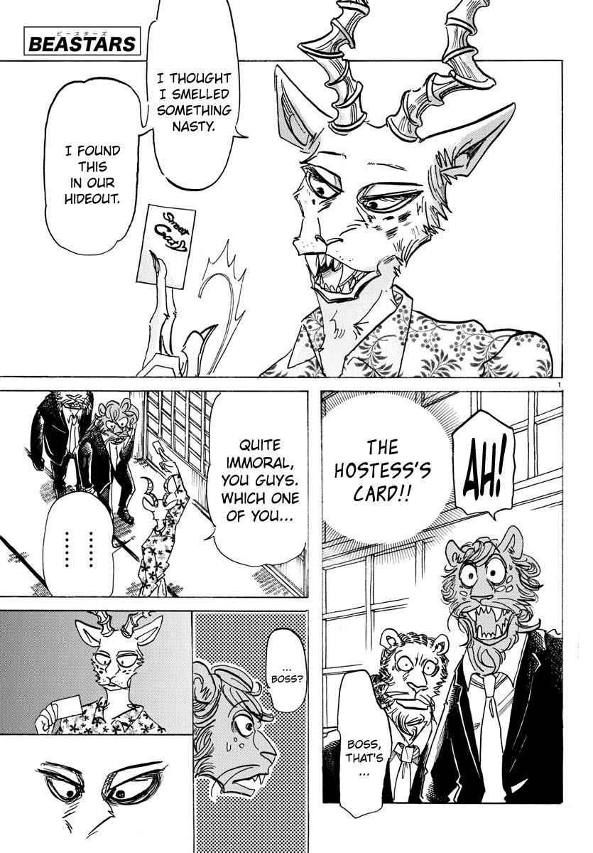Beastars Manga, Chapter 162 image 001
