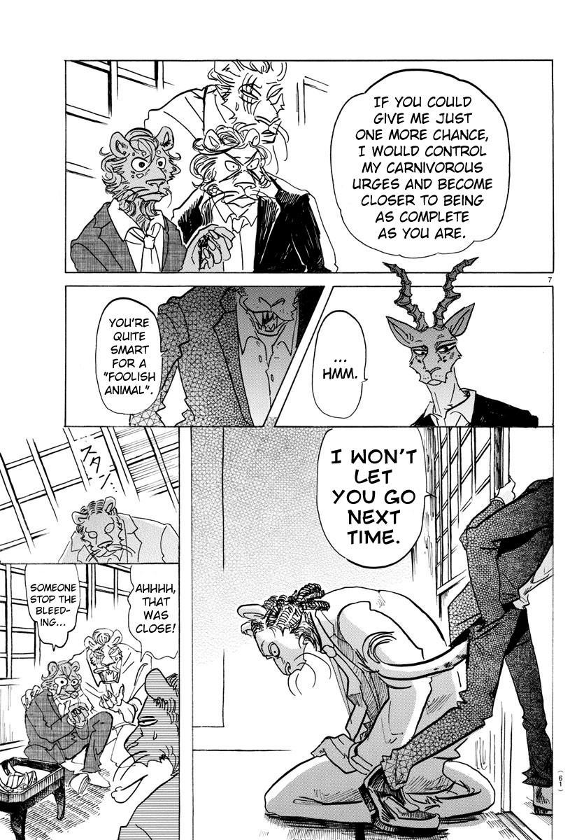Beastars Manga, Chapter 132 image 007