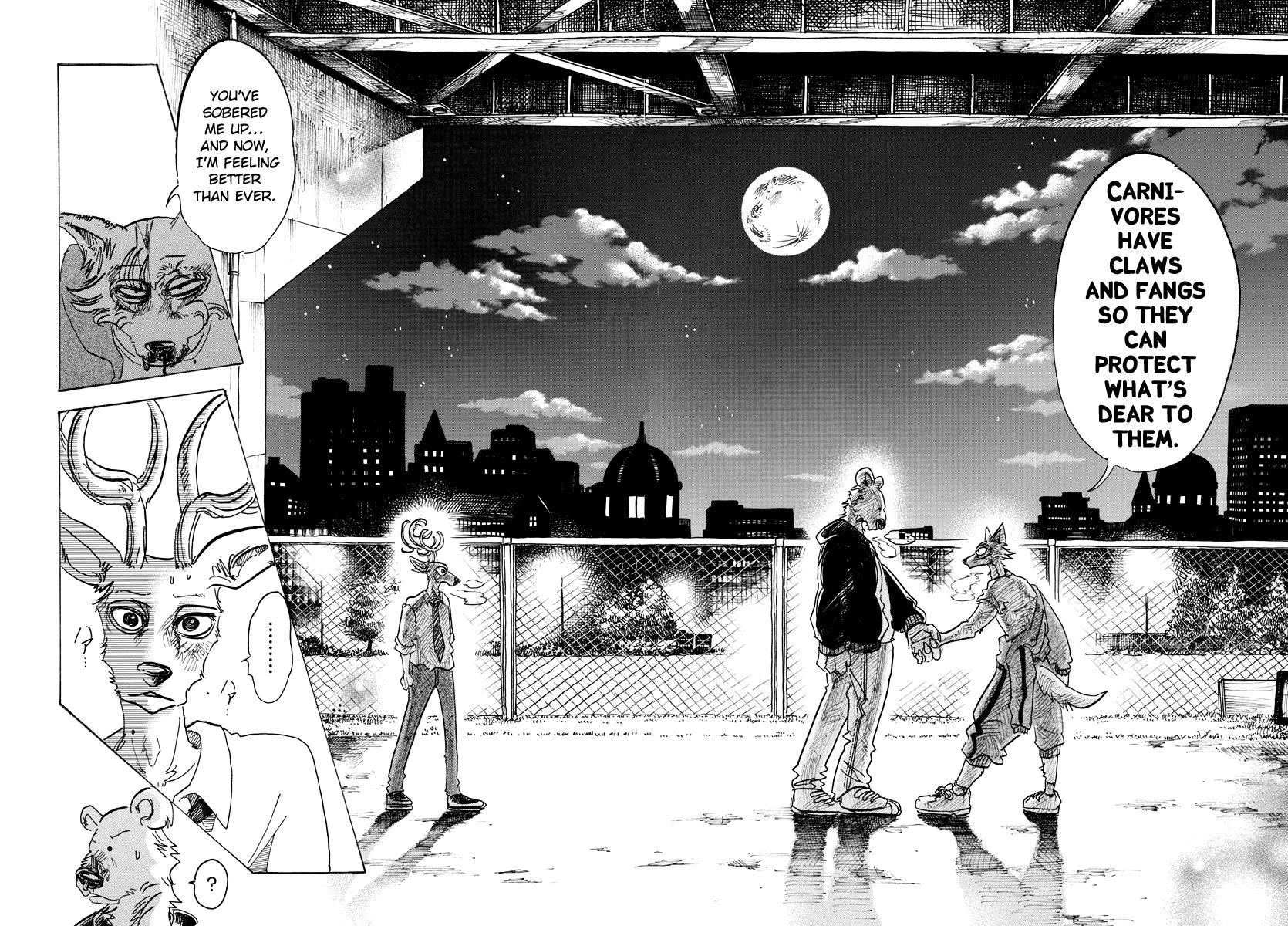 Beastars Manga, Chapter 94 image 016