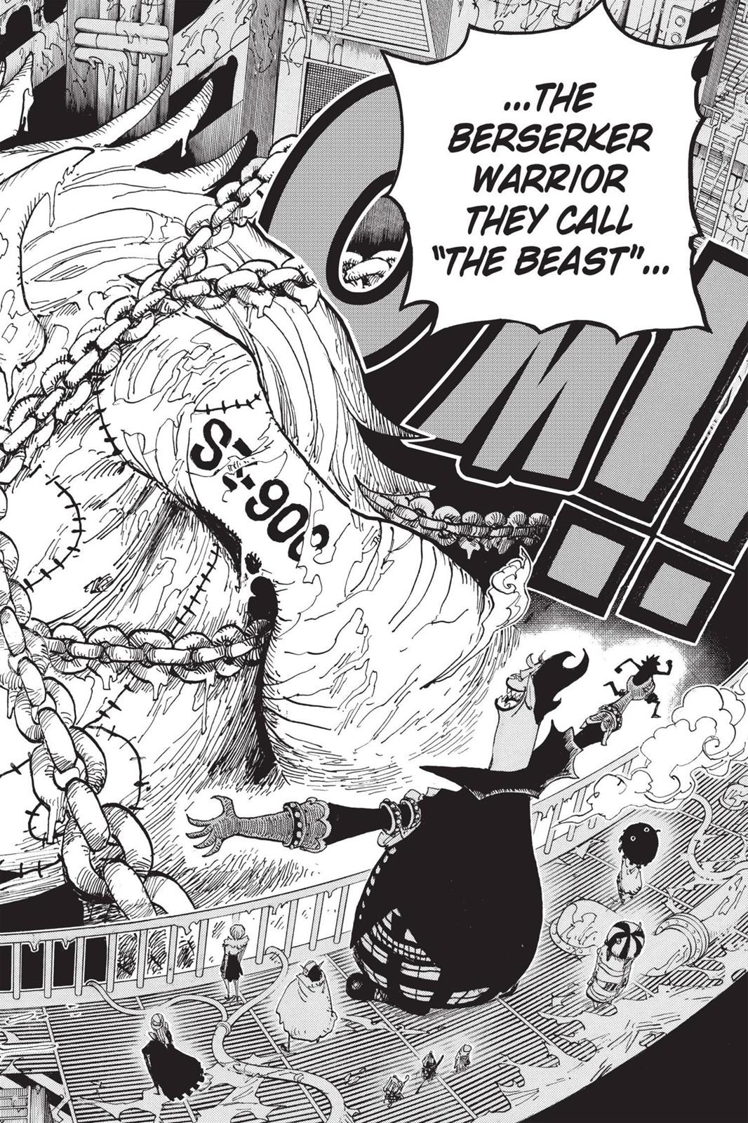 One Piece, Chapter 456 image 018