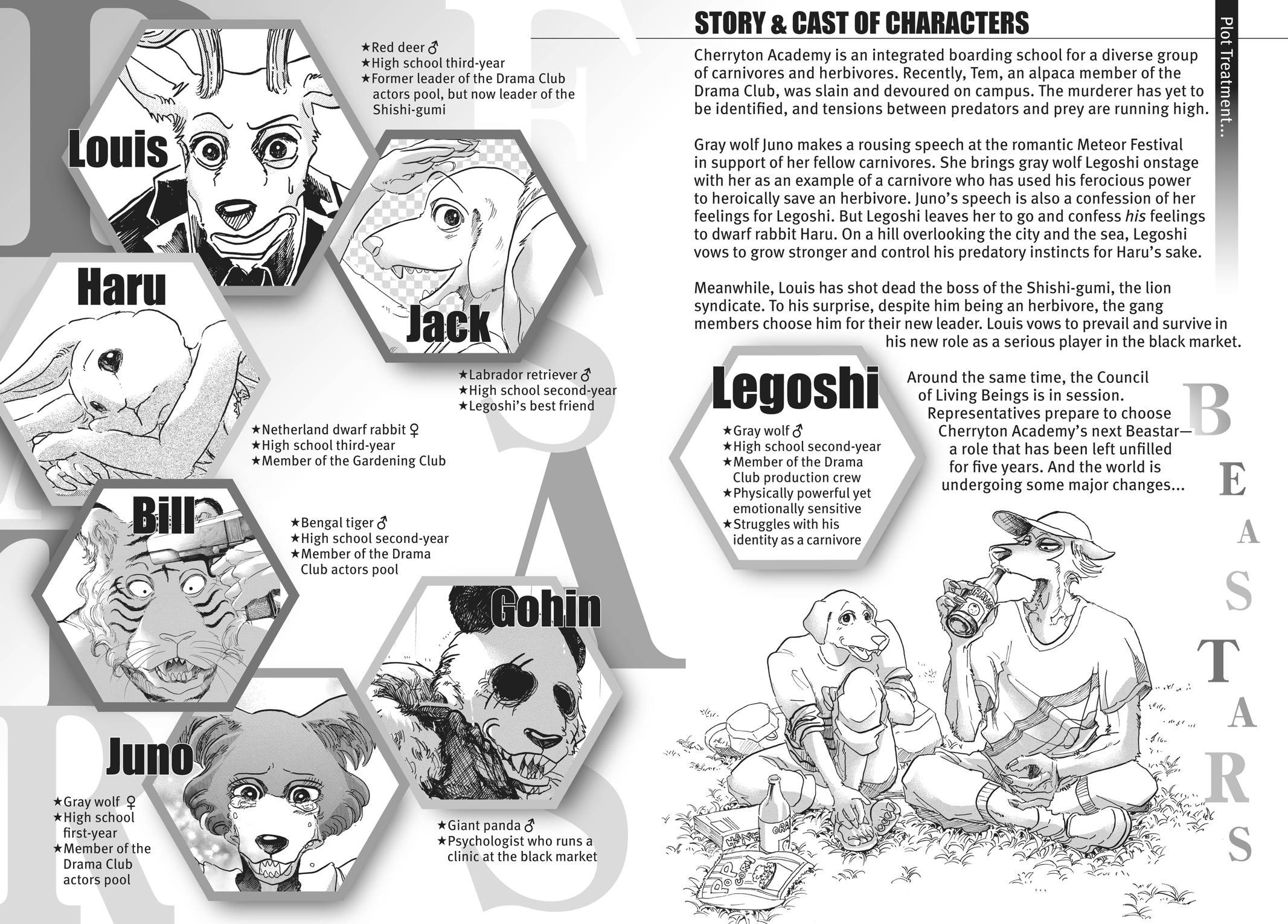 Beastars Manga, Chapter 53 image 003
