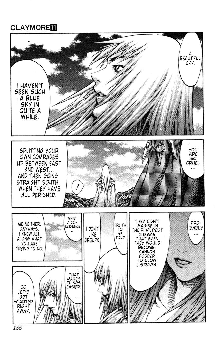 Claymore, Chapter 62 image 028