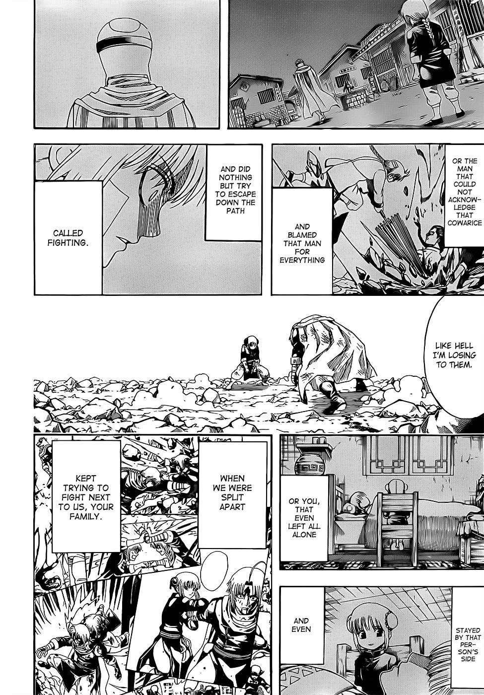 Gintama Chapter, 589 image 009