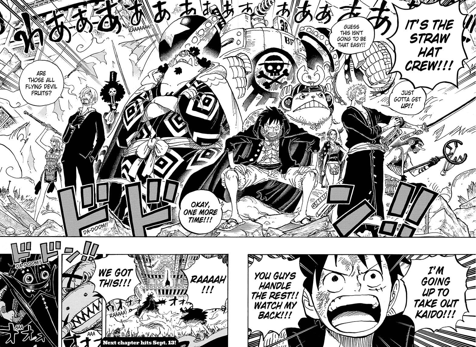 One Piece, Chapter 989 image 014