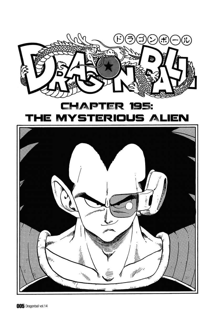 Dragon Ball, Chapter 195 image 008