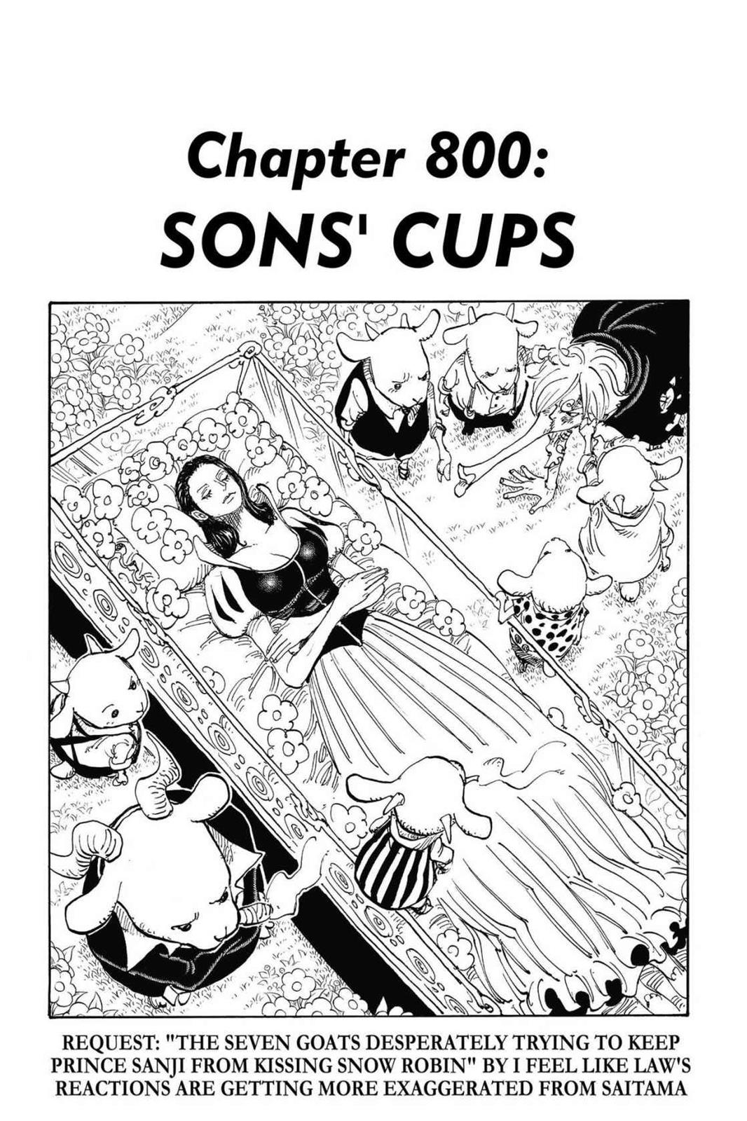 One Piece, Chapter 800 image 001