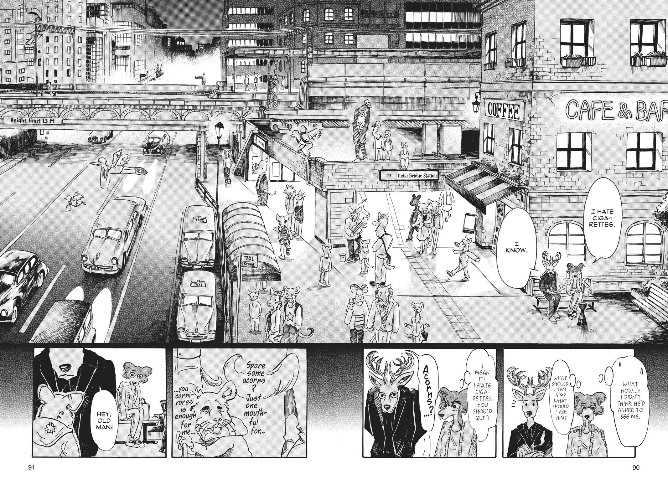Beastars Manga, Chapter 57 image 002