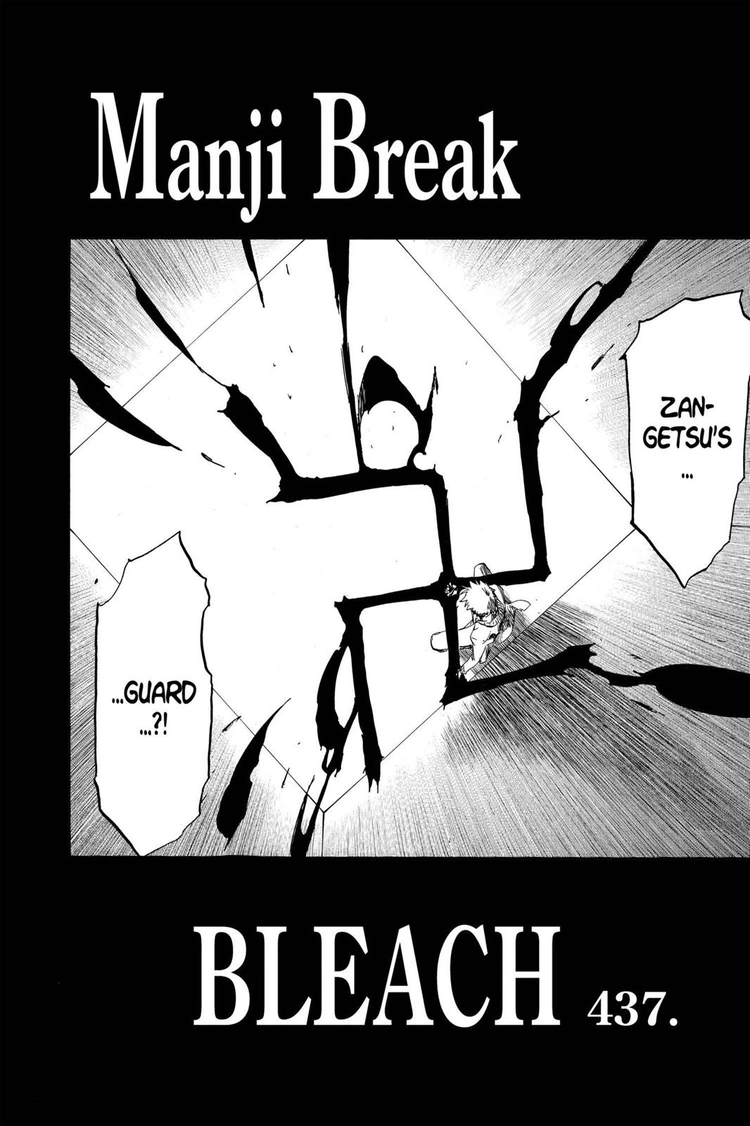 Bleach, Chapter 437 image 002
