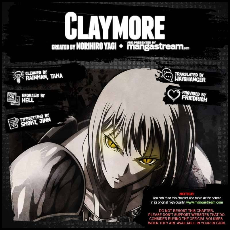 Claymore, Chapter 155 image 002