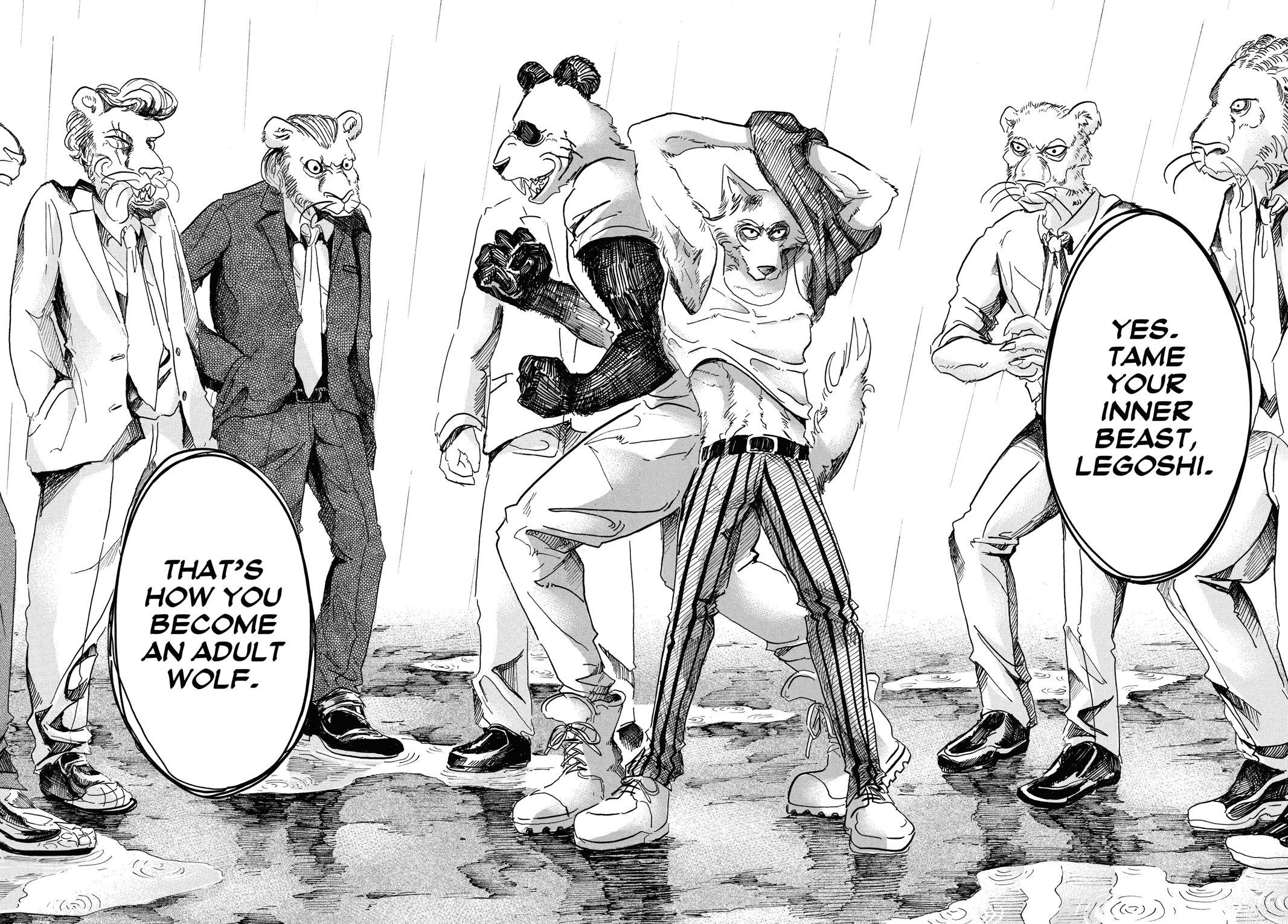 Beastars Manga, Chapter 39 image 016