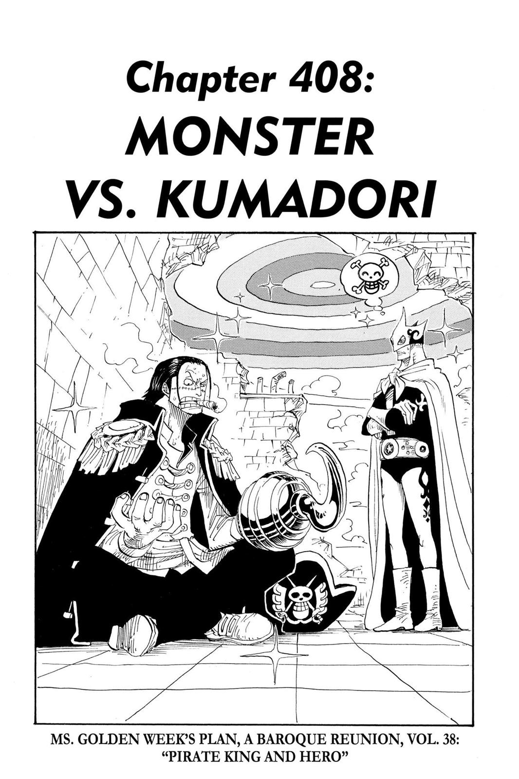 One Piece, Chapter 408 image 001