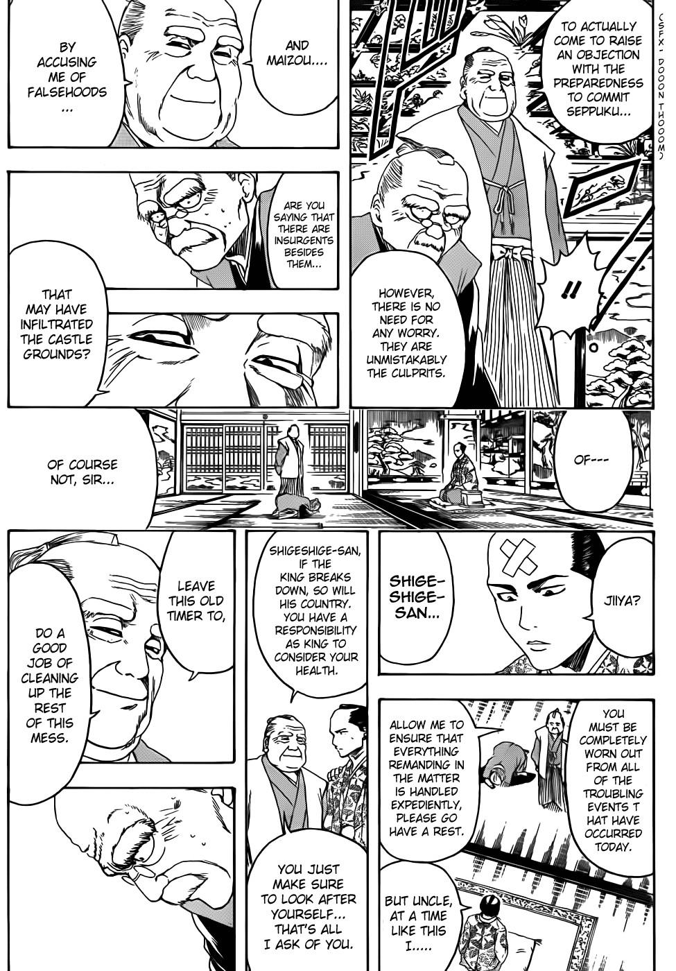Gintama Chapter, 389 image 009
