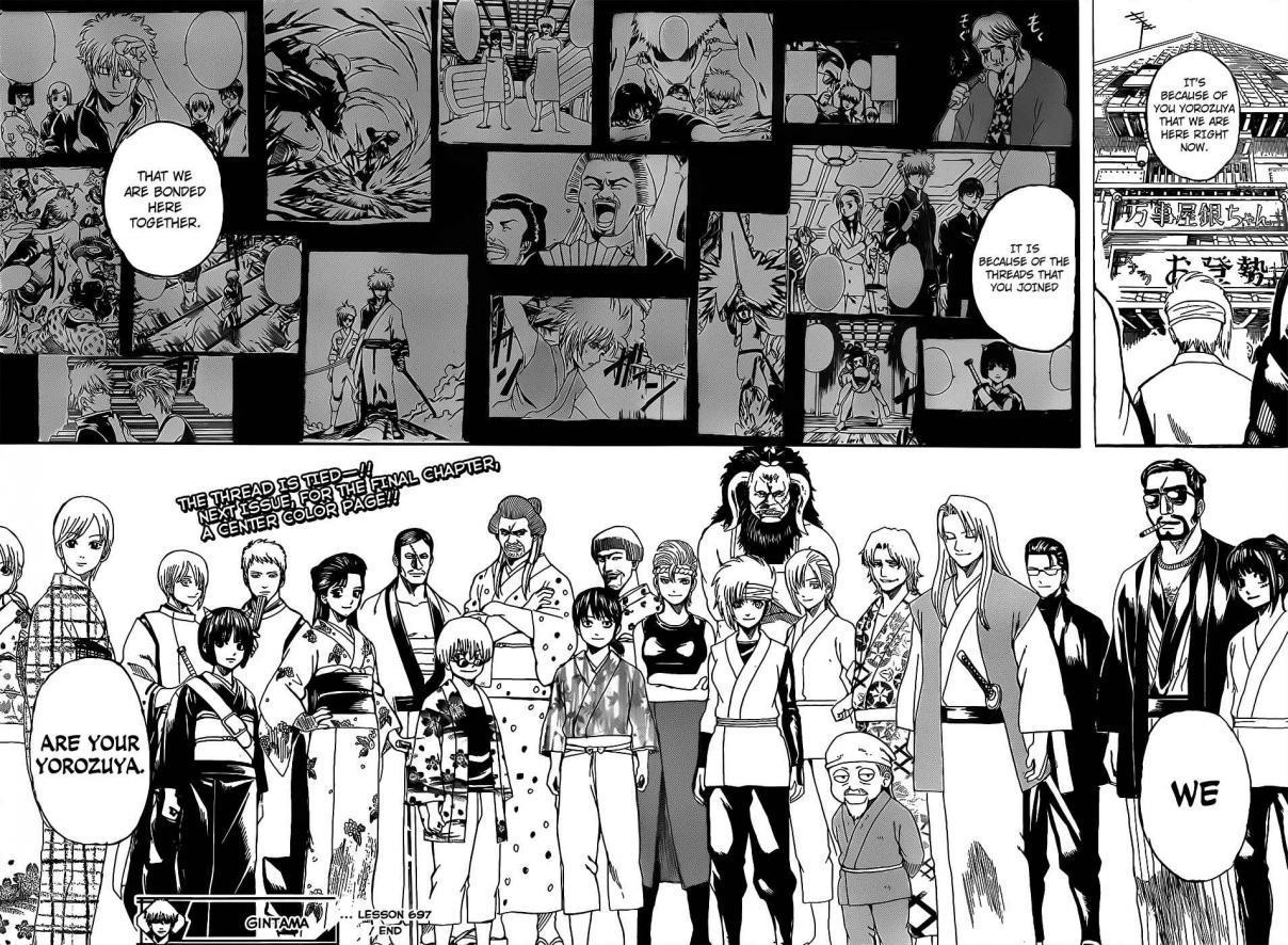 Gintama Chapter, 697 image 018