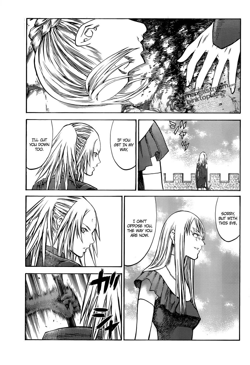 Claymore, Chapter 106 image 005