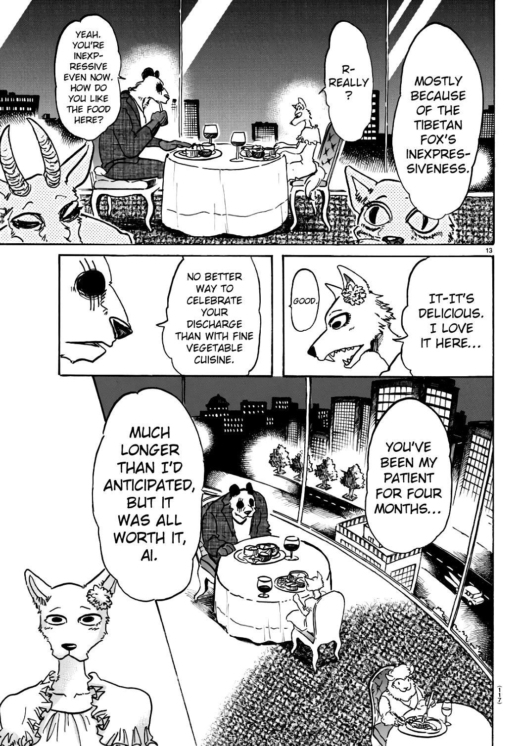 Beastars Manga, Chapter 86 image 013