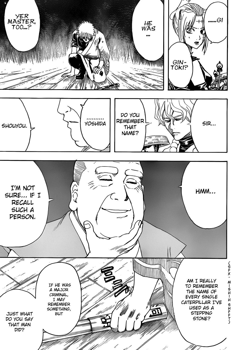 Gintama Chapter, 393 image 007