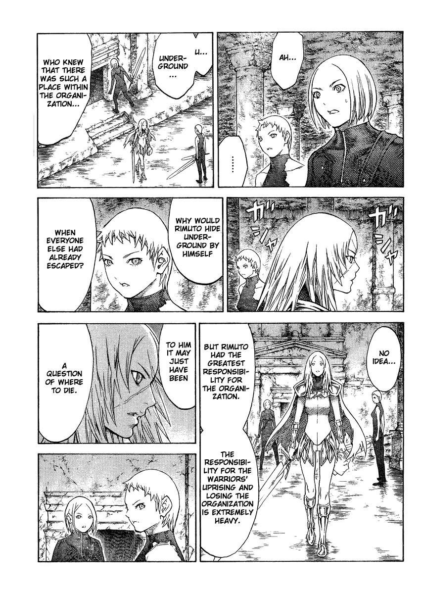 Claymore, Chapter 126 image 018