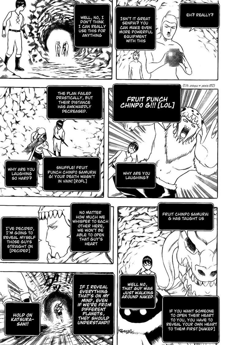 Gintama Chapter, 191 image 017