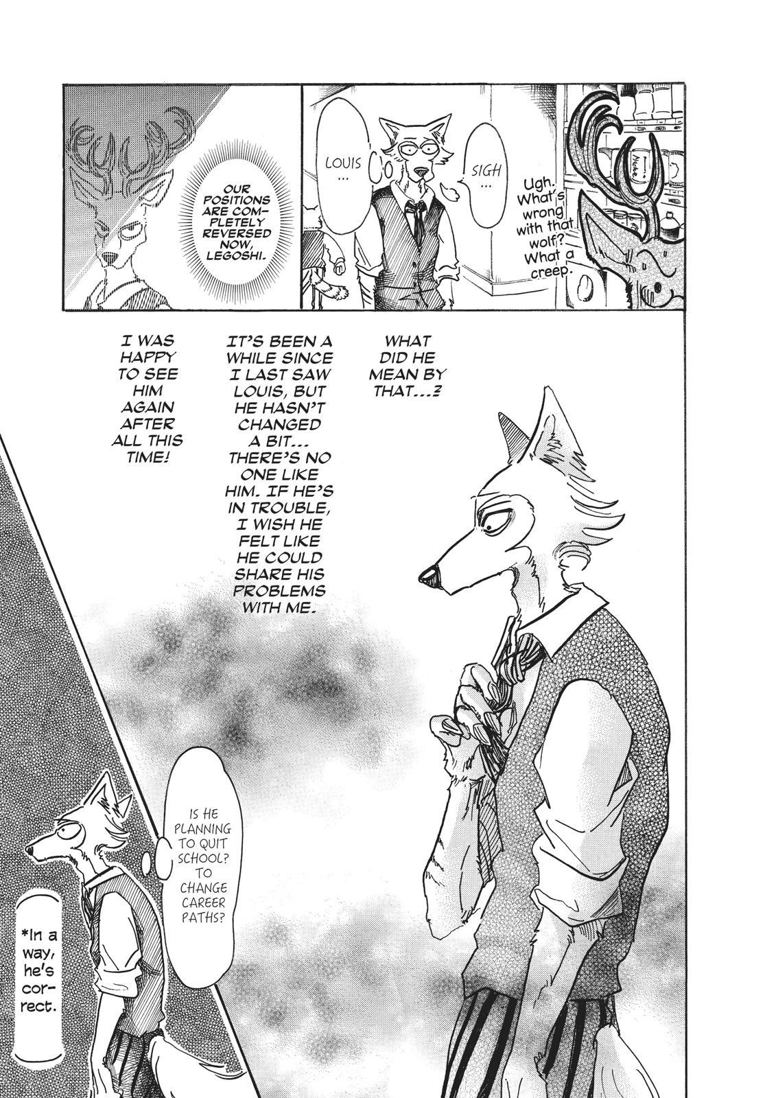 Beastars Manga, Chapter 52 image 003