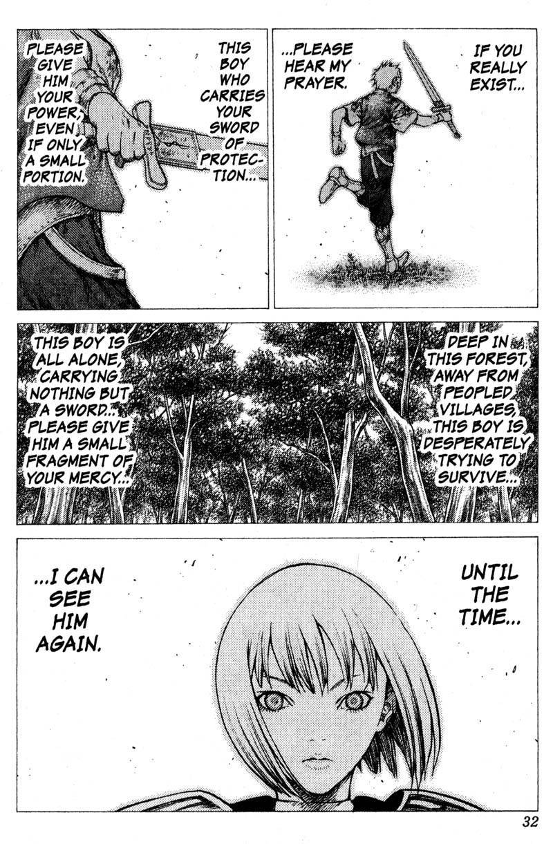 Claymore, Chapter 34 image 030