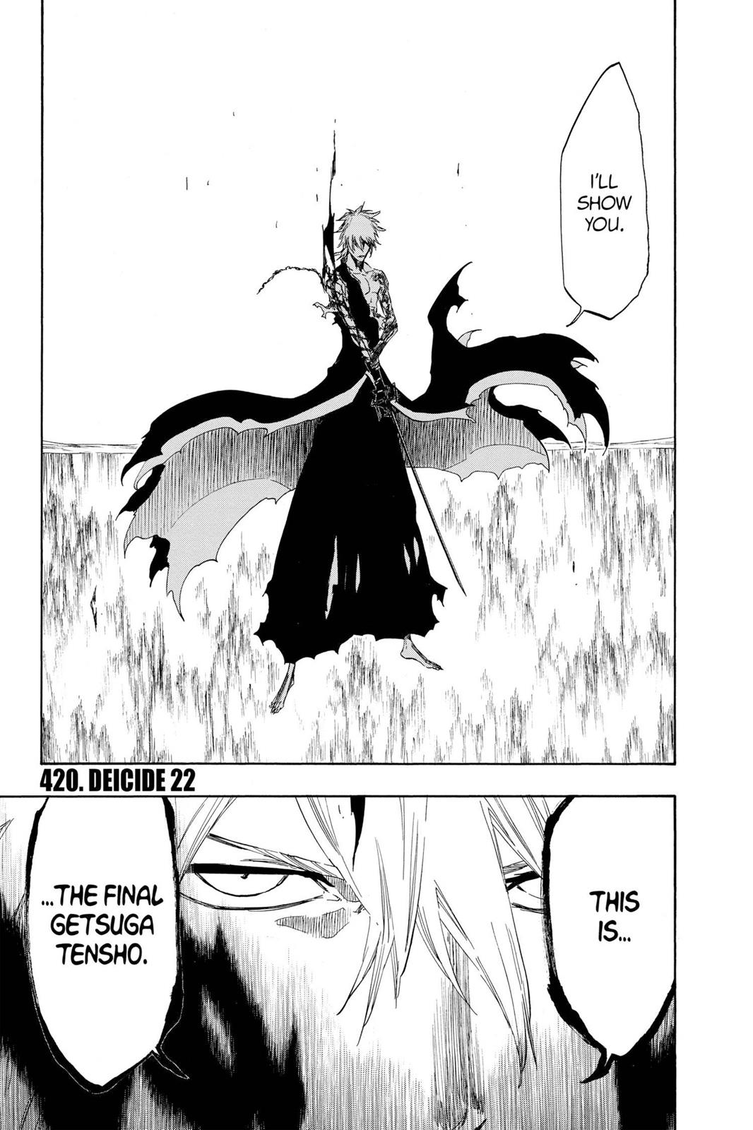 Bleach, Chapter 420 image 001