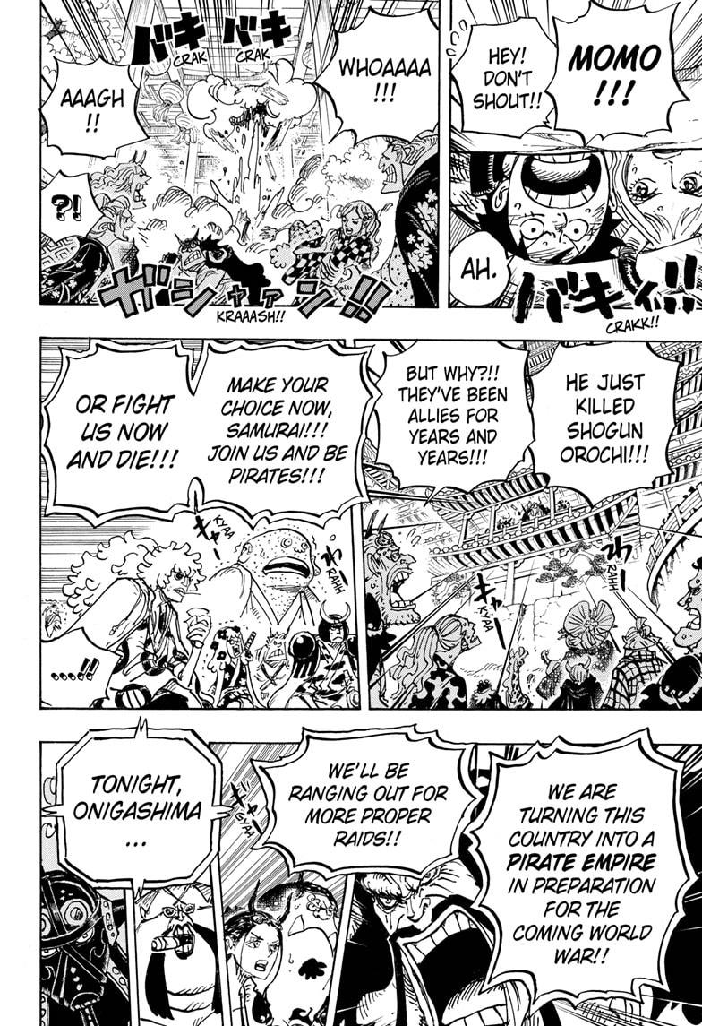 One Piece, Chapter 985 image 016