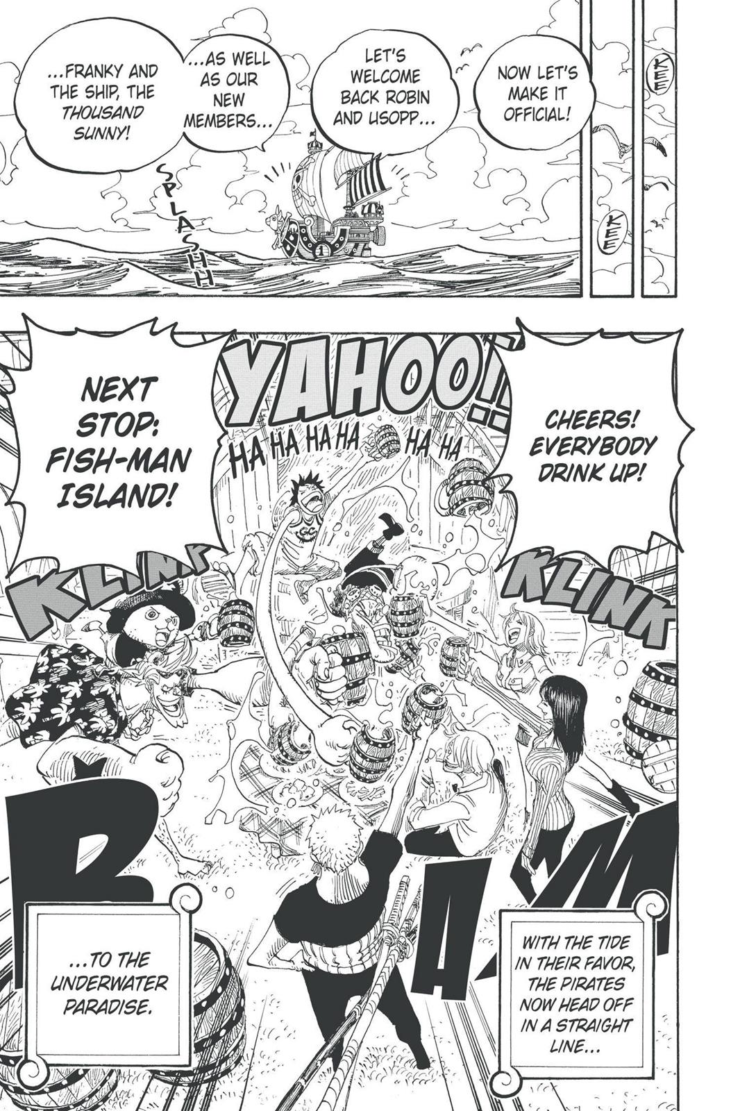 One Piece, Chapter 439 image 020