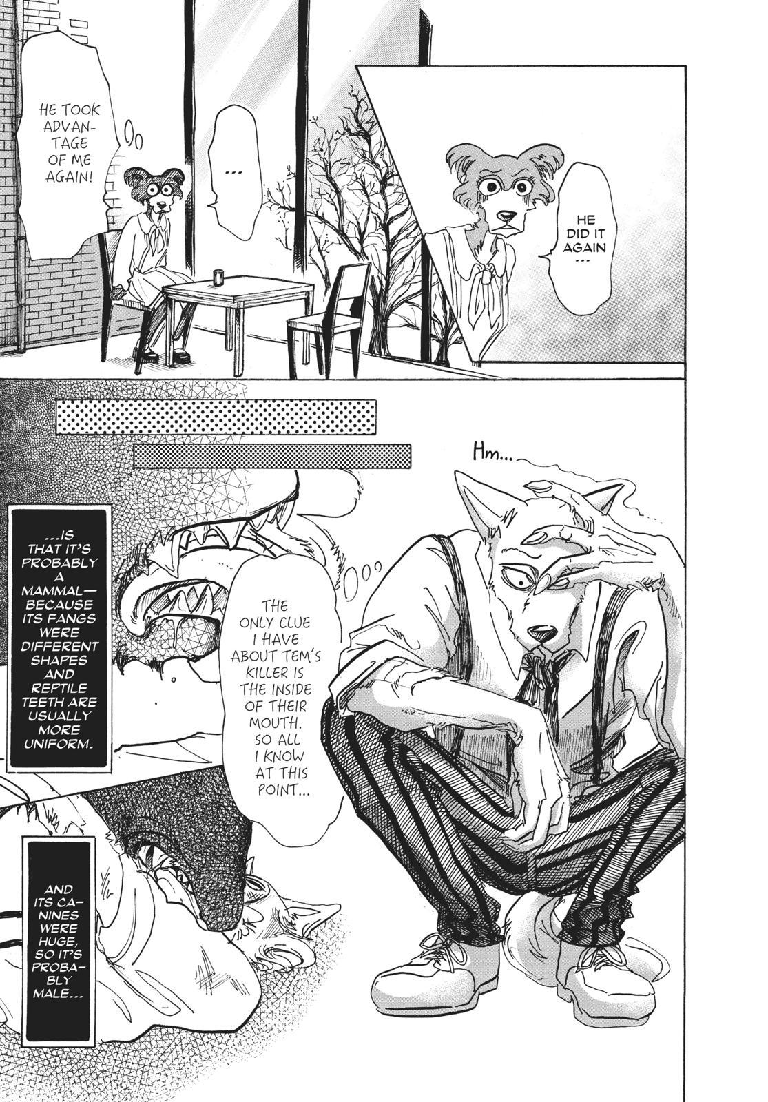 Beastars Manga, Chapter 67 image 009