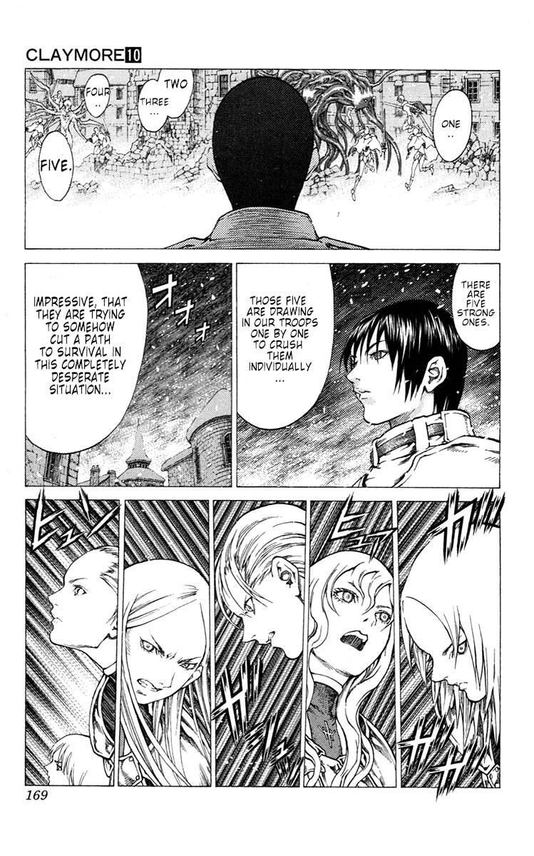 Claymore, Chapter 57 image 011