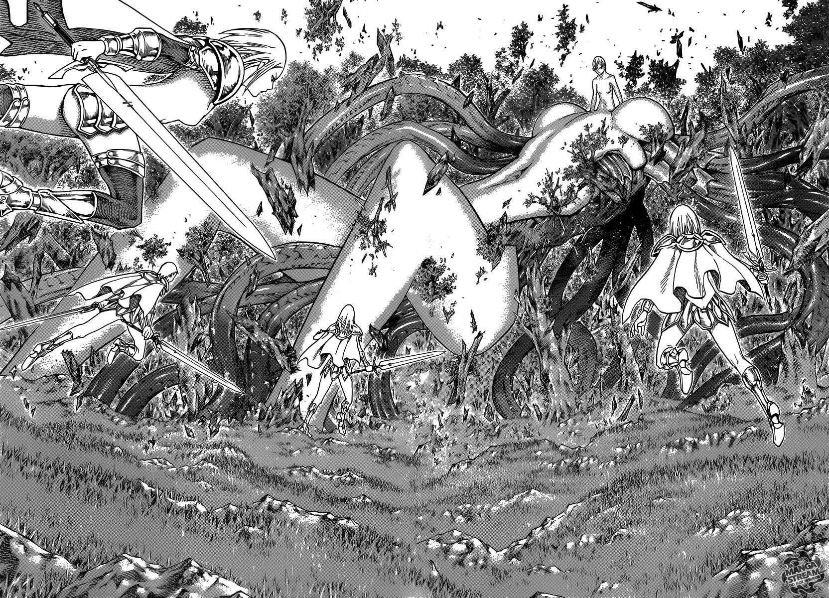 Claymore, Chapter 133 image 005